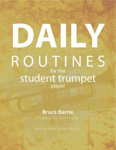 Daily Routines for the Student Trumpet Player – trumpetroutines com